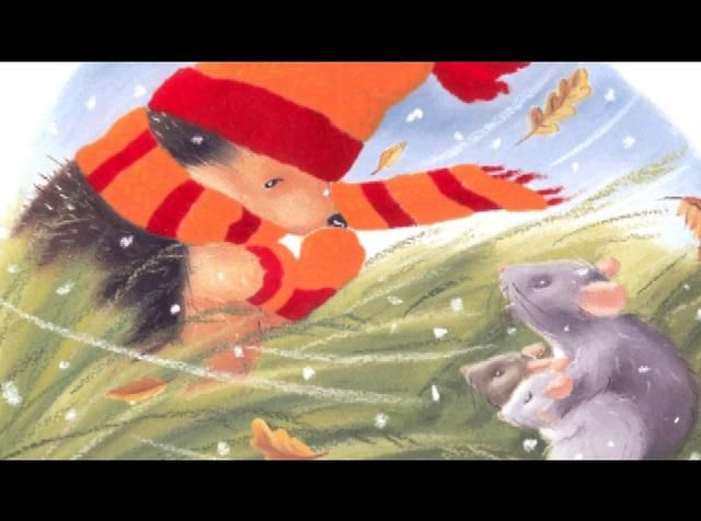 one winters day video...great book for beginning, middle, end