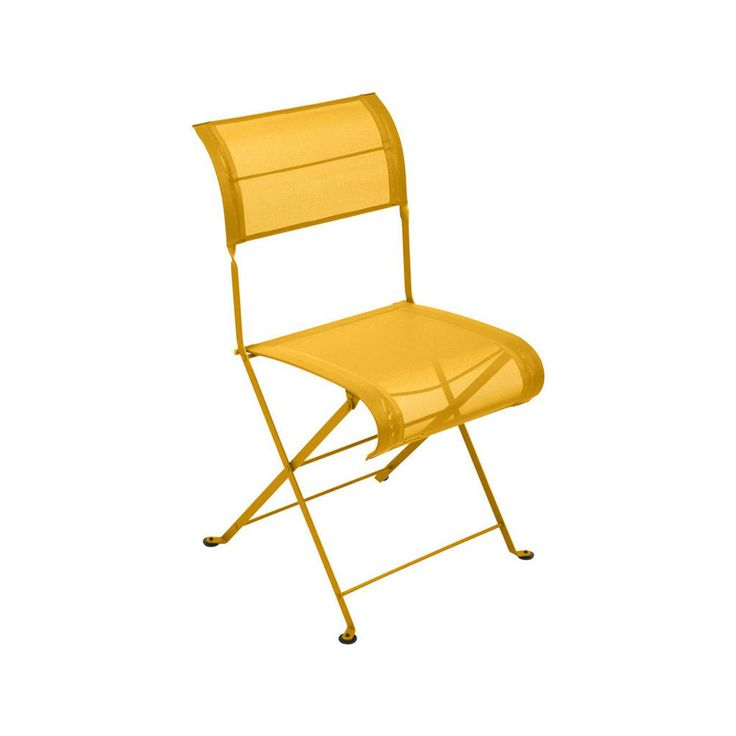 Outdoor folding chair - Fermob Dune patio chair by BonMarcheOnline on Etsy https://www.etsy.com/ca/listing/539975171/outdoor-folding-chair-fermob-dune-patio