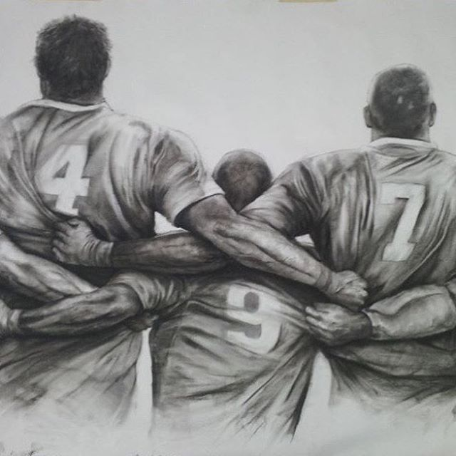 Rugby art by @_rugby_gram_1327 #RugbyIsLife