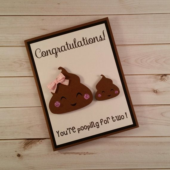 Pregnancy Congratulations Card Handmade Greeting by ACardDaysWork