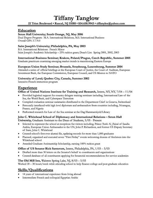 Sample Resumes Online  Sample Resume And Free Resume Templates