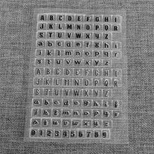 Hot Sale Alphabet And Digital Design Transparent Stamp DIY Scrapbooking Photo…