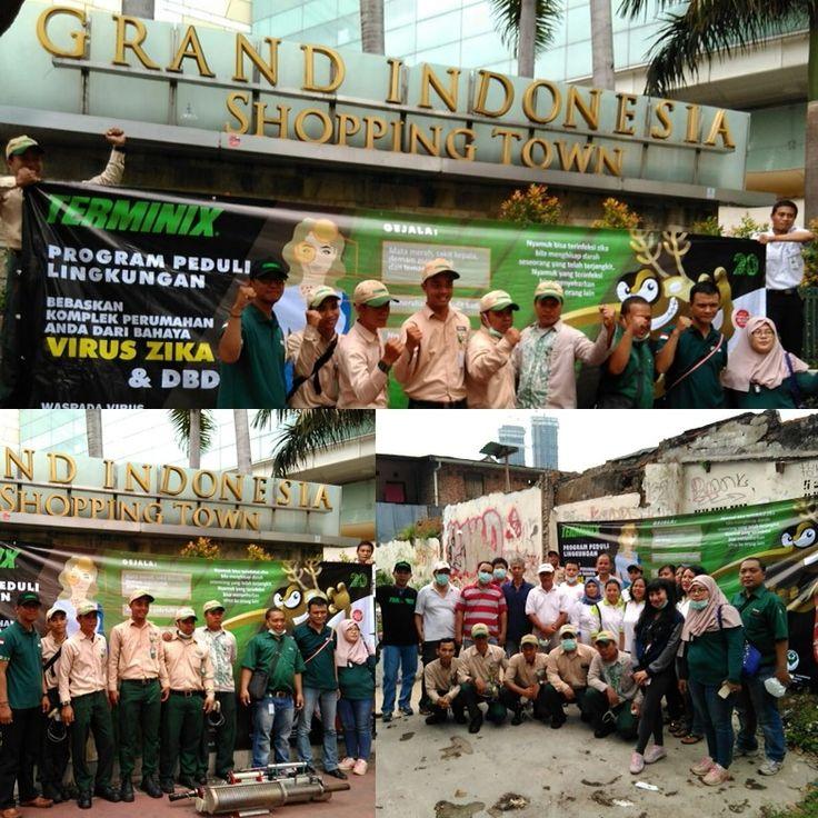 Peduli Lingkungan Bersama Grand Indonesia