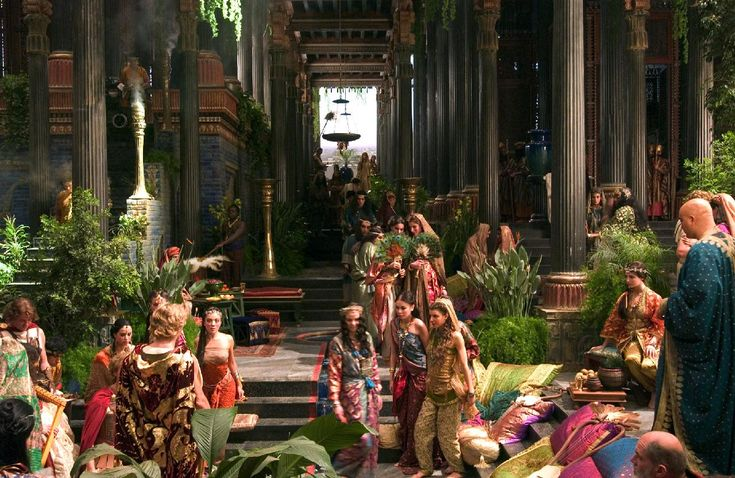 Alexander | Hanging Gardens of Babylon | Pinterest | Scene ... | 736 x 478 jpeg 92kB