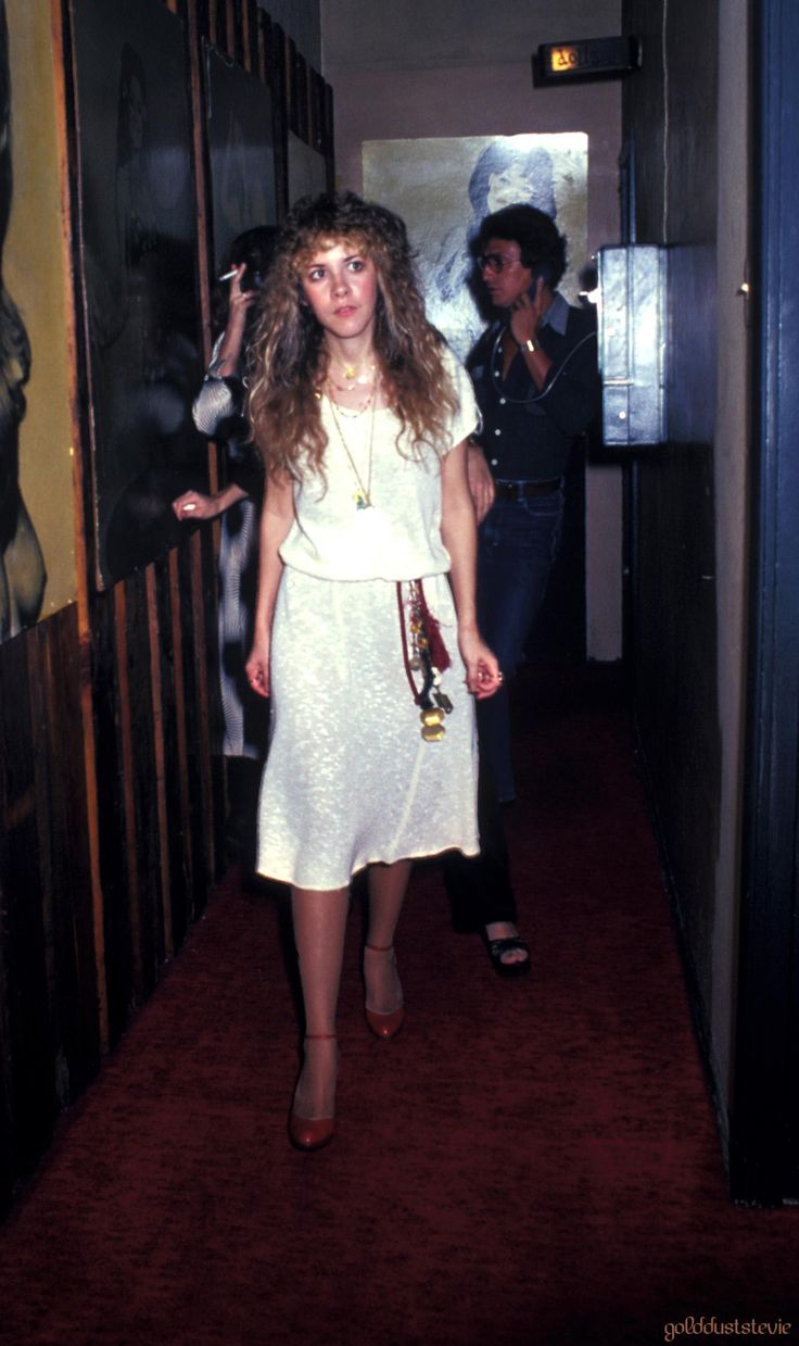 Stevie Nicks - what a cutie. did you know they are touring this summer?! July if San Diego's your show spot.