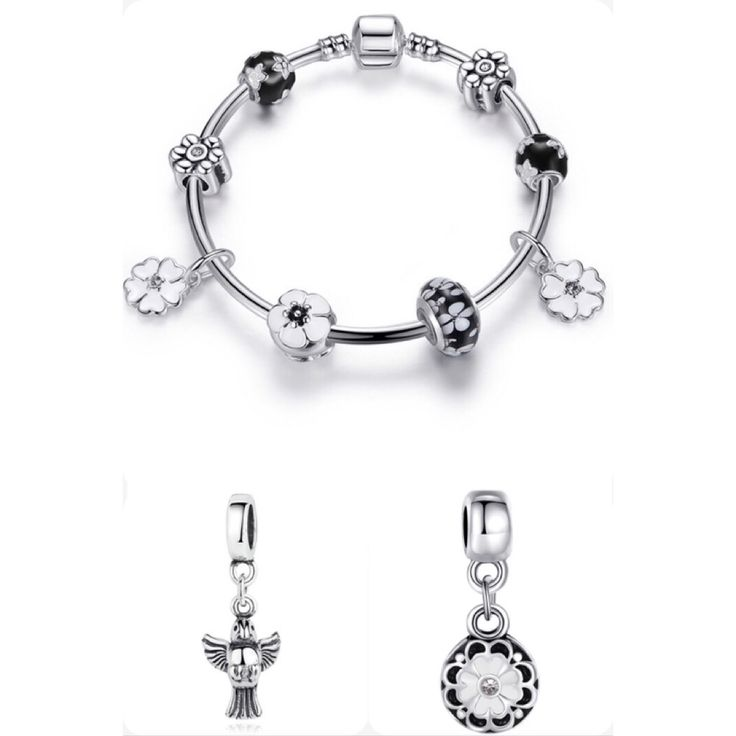 Check out Silver flower and dove bracelet set for $35.00. Get it on Shopee now! http://shopee.sg/les.fashionista/136907457 #ShopeeSG