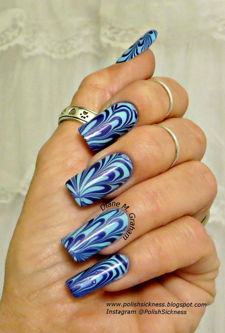 Julep Bess, Studio M Lust water marble nail art - Best 25+ Water Marble Nails Ideas On Pinterest Water Marble Nail