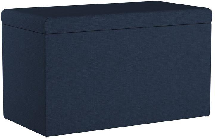 Cullen Kids Storage Bench, Navy