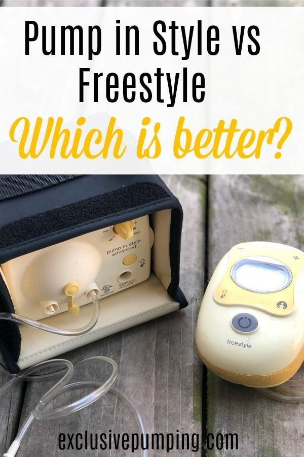 Medela Pump In Style Versus Medela Freestyle Flex Exclusive