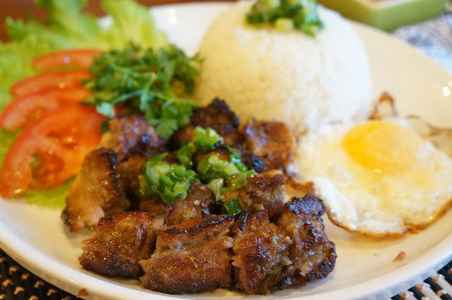 Vietnamese BBQ pork with Rice (Com thit nuong)