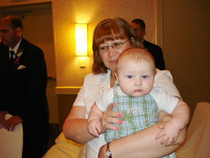 My Grandson, Josh. The baby of the family. What a trip...