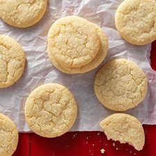 Gluten-Free Sugar Cookies : King Arthur Flour-only small amounts because of the part almond flour