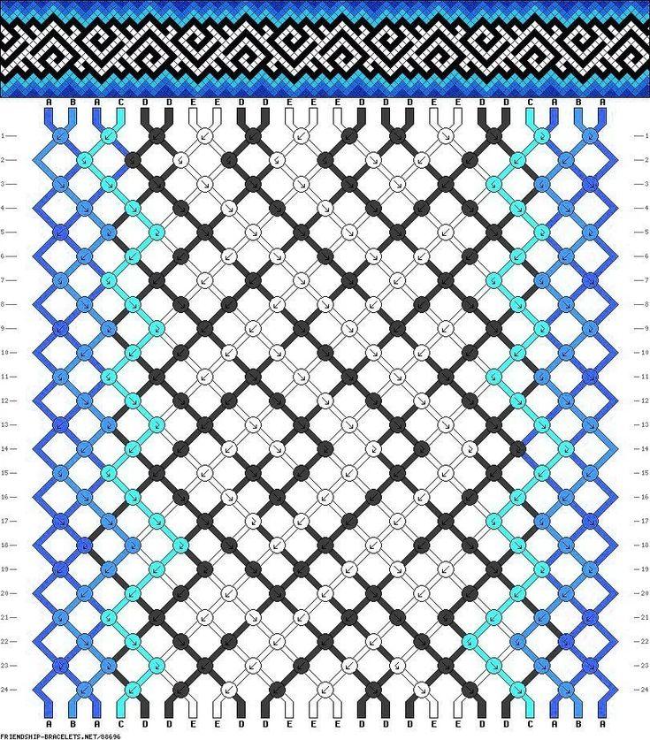 Схема фенечек картинки