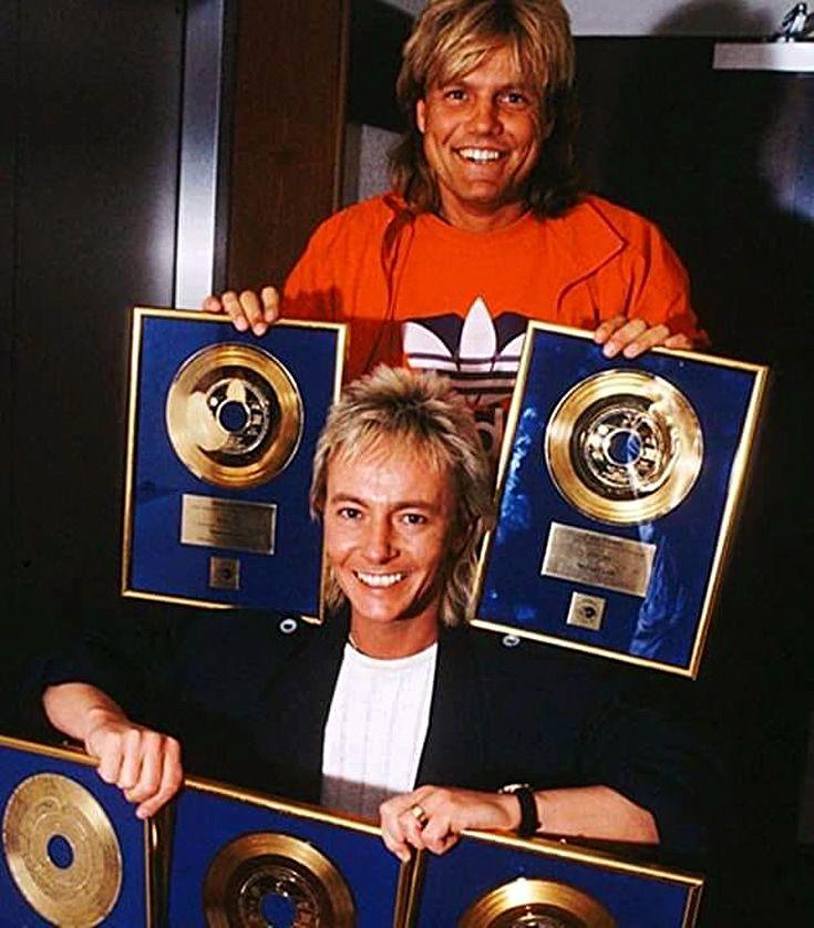 Dieter Bohlen And Chris Norman Dieter Bohlen Bohlen Modern Talking