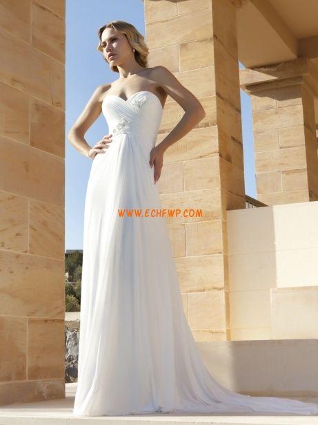 Tengerpart / Távoli helyszín Ragyog & Csillog  Ujjatlan Menyasszonyi ruhák 2014