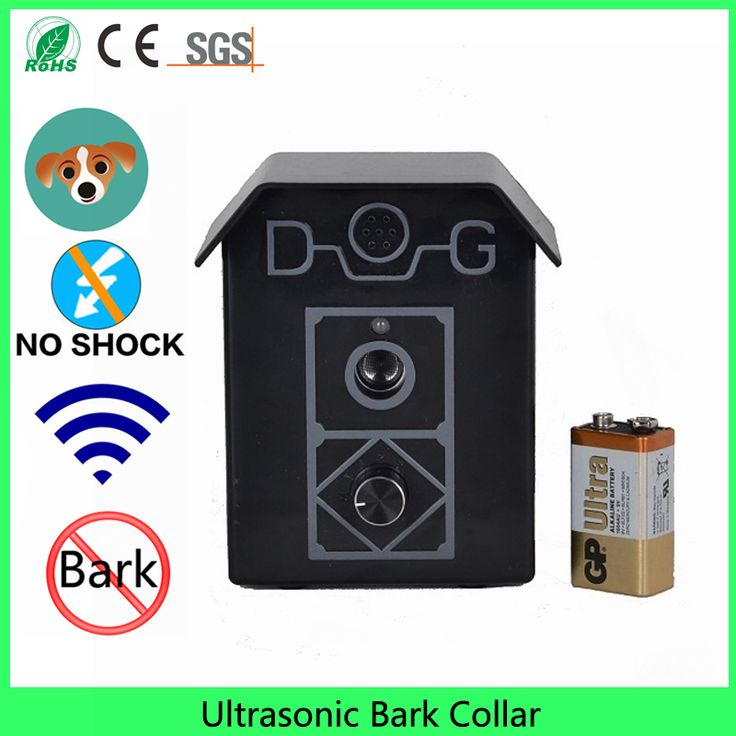 Ultrasonic No Bark Collar Stops Barking Dogs Fast Training Kit for Anti Bark Control GUARANTEED! #Affiliate