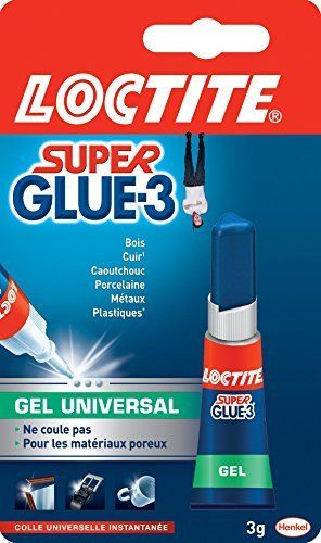 Loctite Super Glue-3 Gel Universal Tube 3 g: Price:2.99Les colles cyanoacrylates, superGlue, sont des colles du quotidien qui permettent de…