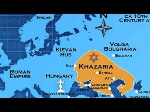 Le canular historique le plus cruel : Les Khazars sémites - YouTube