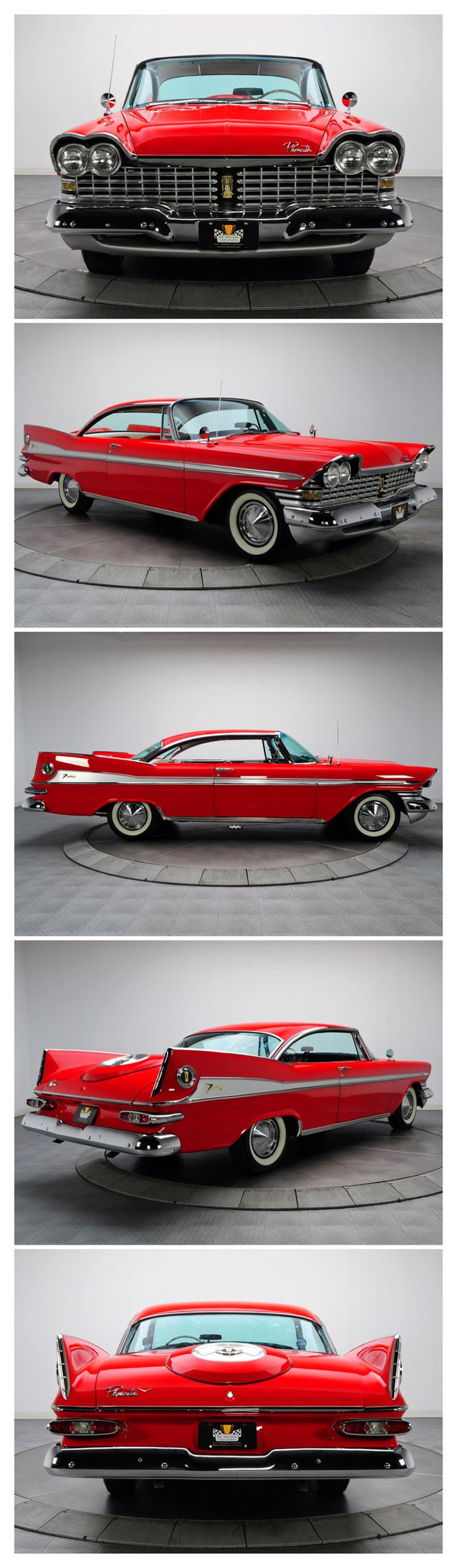 1959 Plymouth Sport Fury...Re-pin Brought to you by agents at #HouseofInsurance in #EugeneOregon for #LowCostInsurance.