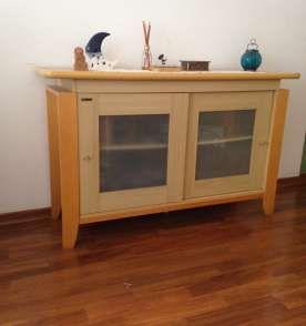 Buffet madeira marfil, a peça que faltava na sua casa!!!