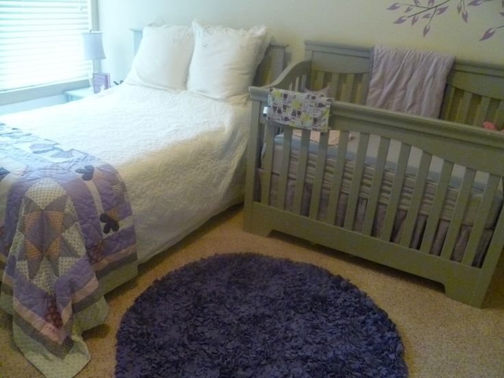 Maddieu0027s Purple U0026 Grey Nursery