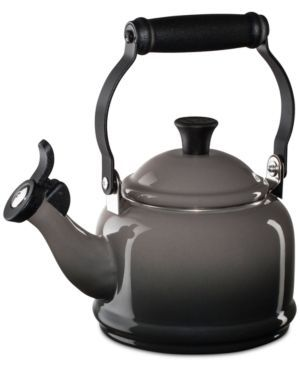 Le Creuset Demi 1.25 Qt. Tea Kettle - Gray