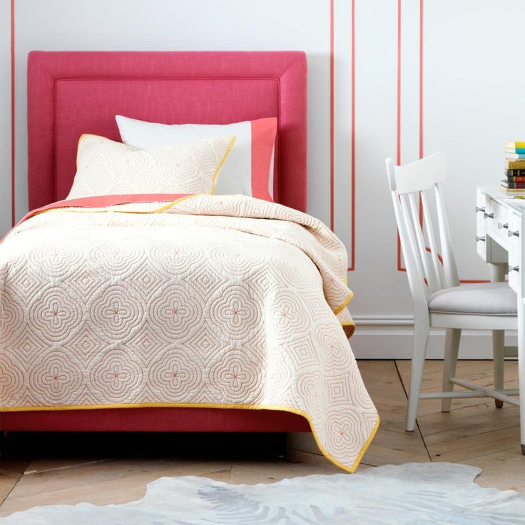 Best 25+ Pink Headboard Ideas On Pinterest