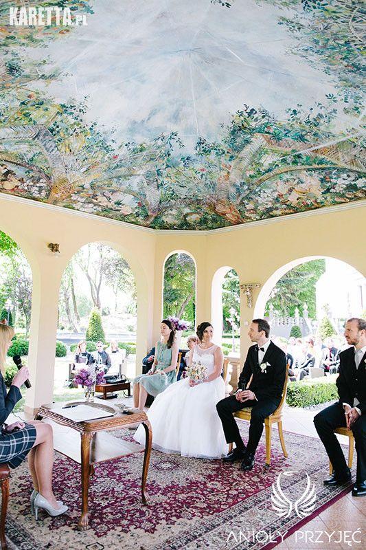 16. Lilac Wedding,Outdoor ceremony / Wesele z bzem,Ceremonia w plenerze,Anioły Przyjęć