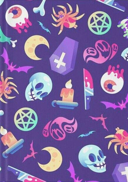 Skeleton Pattern Wallpaper Cute Pin By Rozalynn Jedinak On Spooktacular Halloween