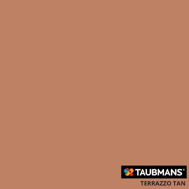#Taubmanscolour #terrazzotan