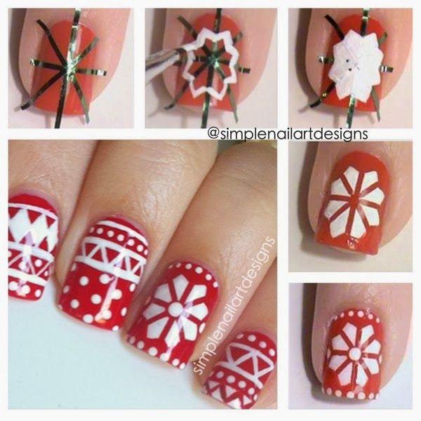 Best 25 diy christmas nail art ideas on pinterest diy christmas 36 wonderful christmas nail art designs prinsesfo Choice Image
