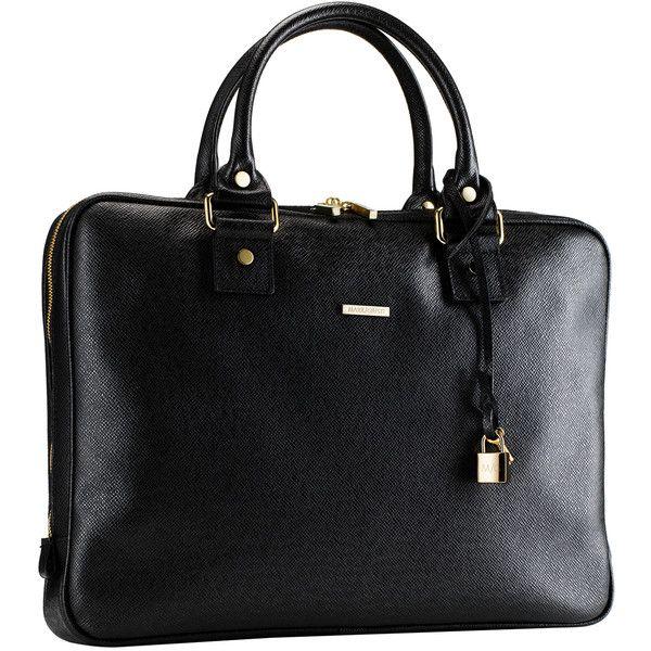 Mark/Giusti Milano Essential Laptop Bag ($600) ❤ liked on Polyvore