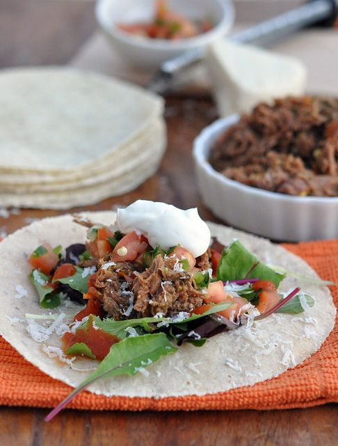 Tacos, Taco taco and Meat on Pinterest