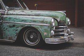 Carro, Vintage, Clássico, Retro