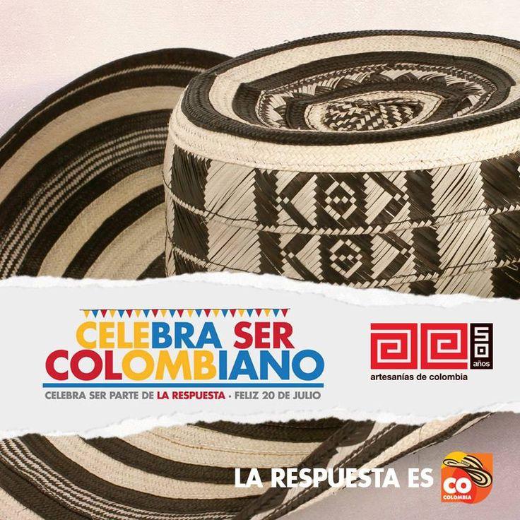 Celebra ser colombiano! Marca Colombia y Artesanias de Colombia.