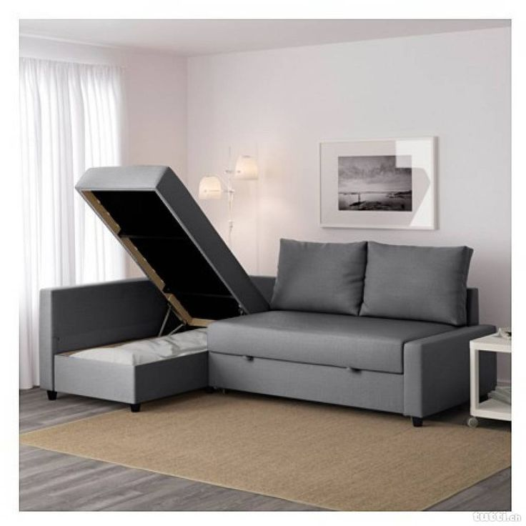 Ikea's Best Small-Space Items | 3-Seat Sleeper Sectional  This sleeper sofa ($600) is way easier to extend than your traditional sofa bed. Plus, it makes a great guest bed — or if you're really starved for space, a master bed!