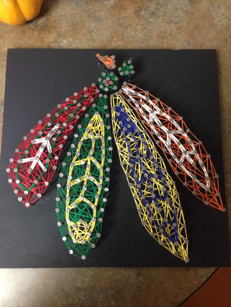 Blackhawks String Art Creative Crafts Pinterest