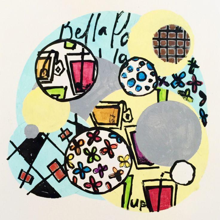 Travel based illustration
