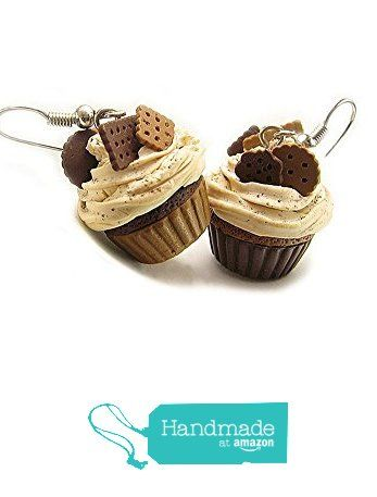 Chocolate Cupcake Earrings ~ Food Jewelry from HugsKissesMINI http://www.amazon.com/dp/B015V5CZRY/ref=hnd_sw_r_pi_dp_K21gxb1ZCP8Z8 #handmadeatamazon