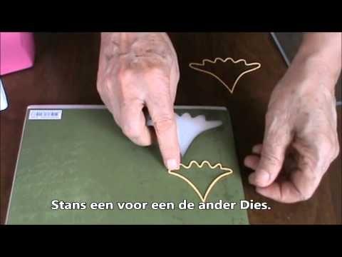 ▶ Shape Die Kerstboom - YouTube