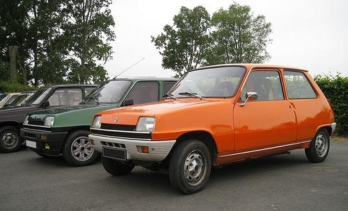 7) Renault 5 - d'occasion (2è voiture)