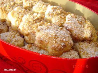 Кулинарные рецепты от Лики: Печенье с арахисовой присыпкой
