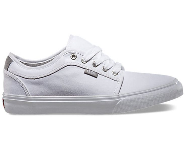 Vans Off the Wall Chukka Low Chambray True White Shoes Mens 7.5 Skateboard Sk8