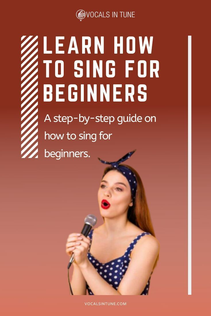 Learn How To Sing For Beginners Singing Techniques Learn Singing Singing Tips
