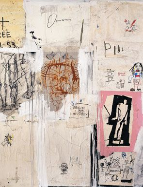 Jean Michel Basquiat @ The Fundacion Marcelino Botin in Santander