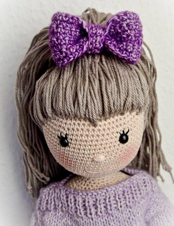 Puppe Emily Pdf Anleitung Häkeln Pinterest Crochet Dolls