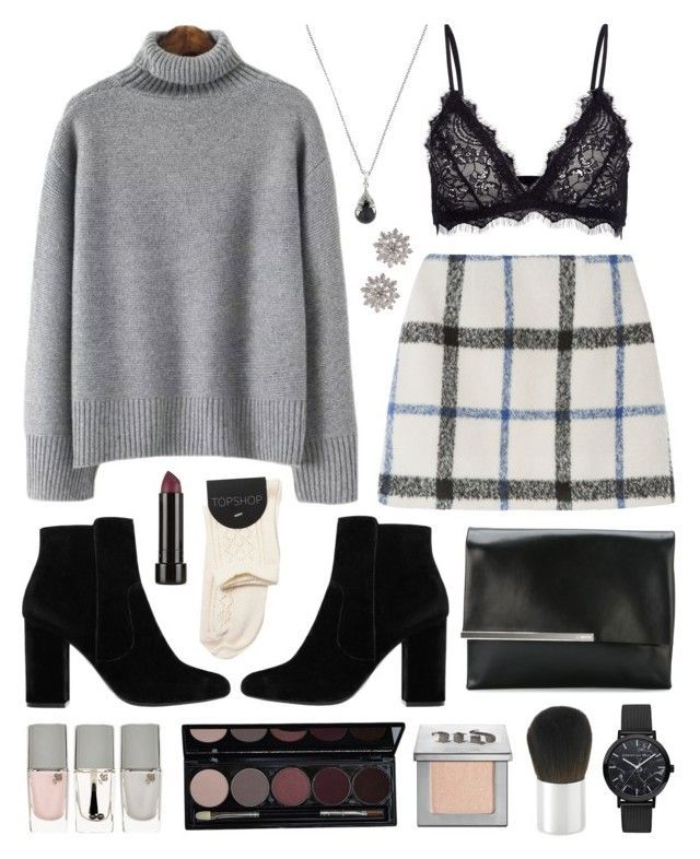 Flashpoint by sophiehackett on Polyvore featuring polyvore, fashion, style, Anine Bing, MANGO, Jil Sander, Nordstrom Rack, Manuel Bozzi, Urban Decay, Borghese, Lancôme and clothing