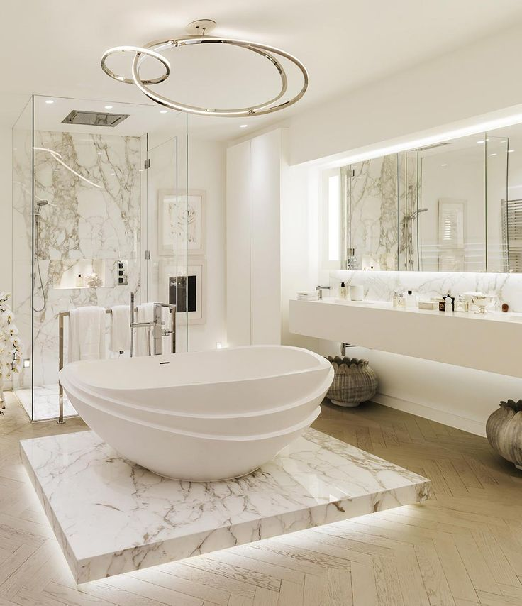 168 Best Beautiful White Bathrooms Images On Pinterest Dream Bathroom And Architecture