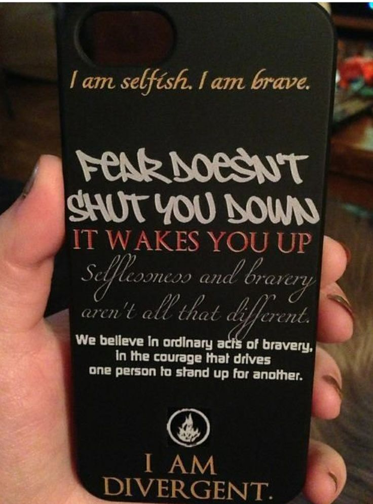 Divergent phone case!! NEED! <3