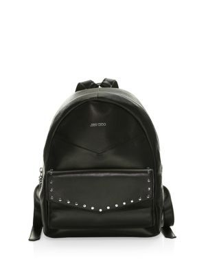 Cassie backpack - Pink & Purple Jimmy Choo London